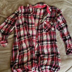 Victoria's Secret Flannel Sleep Shirt